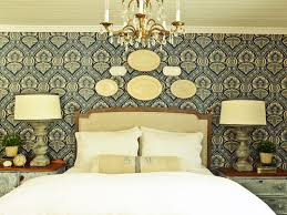 Decorate Bedroom Walls How To Install A Fabric Feature Wall Hgtv