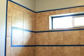plastic shower walls painting shower surround step by step tutorial how to paint shower tile painting
