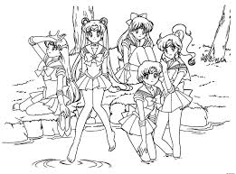 Coloring Pages Manga Girls Coloring Pages Sheets Online Manga Cat