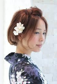 浴衣にボブスタイルのヘアアレンジ75選 女子力up応援サイト
