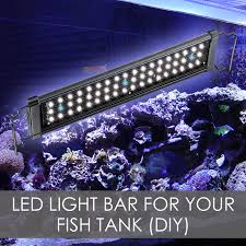 led light bars solutions for your fish tank diy