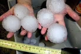 Image result for hail damaged cars