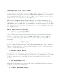 Strong Objective Statements For Resume Magnificent Do Resumes Need An Objective Professional Sample Resume Format
