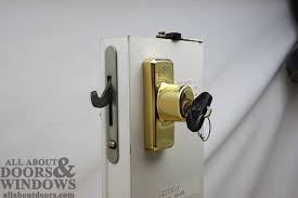 good inspiration sliding patio door lock with key and replacing a sheared tailpiece receiver in an andersen