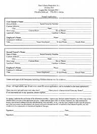Lease Application Unique Printable Lease Form In Free Printable Rental Application Solnet