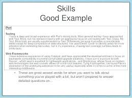 List Of Skills For Resume Delectable A List Of Skills For Resume Worldwidejibaroco