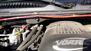 dual battery setup in a 05 chevy suburban mp4 youtube 2016 silverado dual battery kit at Gm Dual Battery Wiring Kit