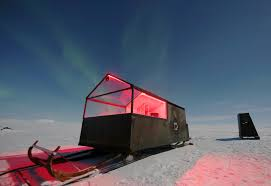 Boat Lights For Cabins See The Northern Lights From An Arctic Cabin On A Sled Cnn