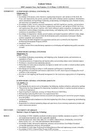 general engineer resume supervisory general engineer resume samples velvet jobs