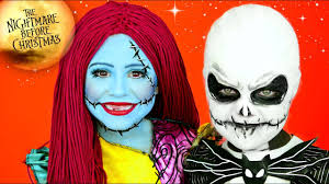 nightmare before jack and sally makeup costumes