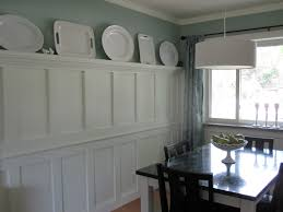 Dining Room Wainscoting Ideas Love The Dining Room Wainscoting W Plate Rail Home Designs