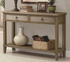 how to decorate a console table. Image Of: Console Table Decor Drawer How To Decorate A R