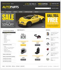 auto parts website template website design 38286 auto parts spare custom website design auto
