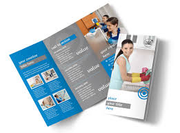 House Cleaning Services Flyers House Cleaning Housekeeping Services Brochure Template