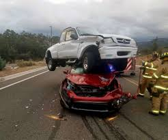 photo firefighters responded to reports of a three vehicle crash in prescott ariz