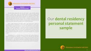 Dental Residency Professional Writing Service Personal Statement     Dentistry Personal Statement Writing Service Do you need help or looking for an expert who positively boost you to write your dental school personal statement  Please come to the right place for your