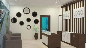 design for office. Elegant Reception Furniture Design Integrated With Storage Cabinets. Workstation For Office Bangalore N