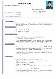 Cv Format Hr Executive Calaizka