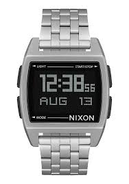 men s watches nixon watches and premium accessories base black