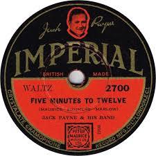78 RPM - Jack Payne - Good-Night Vienna / Five Minutes To Twelve - Imperial  - UK - 2700