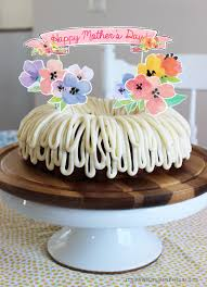 Mothers Day Cake Ideas Free Printable Floral Cake Topper Decoration