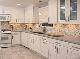 Kitchen Tile Ideas with White Cabinets
