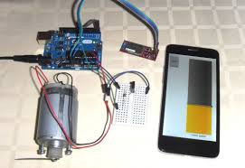 this page explains how to remote control the dc motor sd over bluetooth using android phone with roboremo app