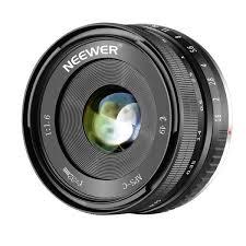 Neewer 32mm F/1.6 <b>Manual</b> Focus Prime Lens Sharp High Aperture ...