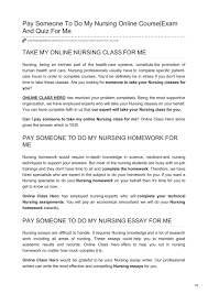 Onlineclasshero Com Pay Someone To Do My Nursing Online