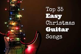 It's a time where i teach my guitar students the joy of playing and singing christmas songs. Top 35 Easy Christmas Guitar Songs Guitarhabits Com