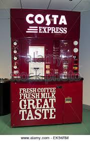 Costa Vending Machine Extraordinary A Costa Express Coffee Vending Machine In A Motorway Service Station