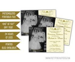 50th Anniversary Party Invitations Printable Ivory 50th Anniversary Invitations 50th Wedding Anniversary Party Invitation 50th Anniversary Ideas Vow Renewal Idea Ivory