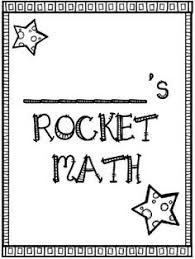 1000+ ideas about Rocket Math on Pinterest | Math, Multiplication ...Rocket Math: Score Tracking Sheets