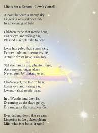 Life Is But A Dream Quote Best of Life Is But A Dream Lewis Carroll SayingsQuotes Pinterest
