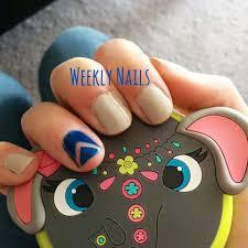 60 Stylish Blue Nail Art Design Ideas