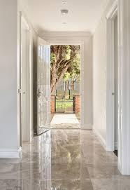 High gloss foyer tiles design