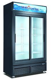 commercial refrigerators the home depot cu ft glass door merchandiser refrigerator