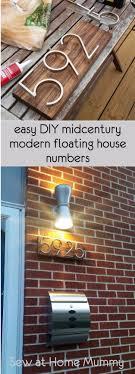 mid century modern front porch. Creative Ways To Increase Curb Appeal On A Budget - Mid Century Modern House Numbers Cheap And Easy Ideas For Upgrading Your Front Porch, Landsca\u2026 Porch H