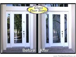 impressive glass front entrance doors elegant door privacy ideas exterior back with inserts wi