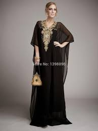 Real Image Gorgeous Arabic Kaftan Indian Party Kaftans Outfit