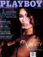 vanity action jackson. Vanity Graces The Cover Of Playboy (April 1988) Action Jackson O
