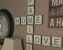 Small Picture Large Letter Tiles for the wall Home Decor Letters