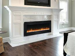 50 inch electric fireplace napoleon electric fireplace with in allure wall mount neflfh prepare 4