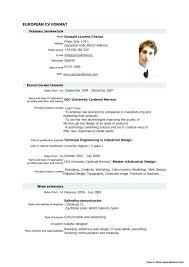 Curriculum Vitae Template Free Magnificent Curriculum Vitae Template Free Sample Format Download Examples Cv
