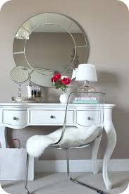 vanity table chair mirror for the small desk in bedroom ghost and design 7