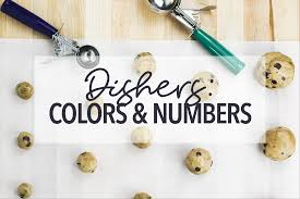 Portion Scoop Size Chart Dishers What Do Those Colors Numbers Mean Restaurant