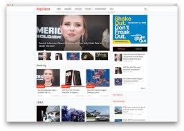 Wordpress Template Newspaper 34 Best Wordpress Newspaper Themes For News Sites 2019