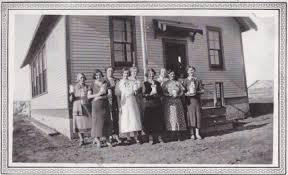 Valecrest School District # 5065, SW 6-44-14 W2, near Golburn Section 6-  Township 44- Range 14-West of the 2nd meridian, schoolhouse built 1934 and  closed following the school term in 1963 - Saskatchewan Gen Web - One room  School Project