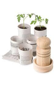 paper pot maker  how to make paper pots  oak form for paper pots