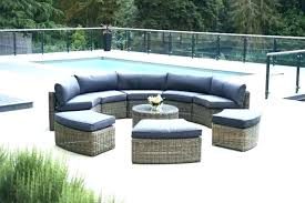 circular outdoor seating wooden curved bench sets